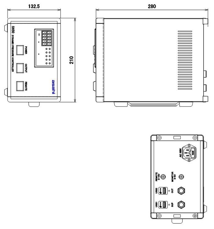 基準圧力発生器:S650シリーズ