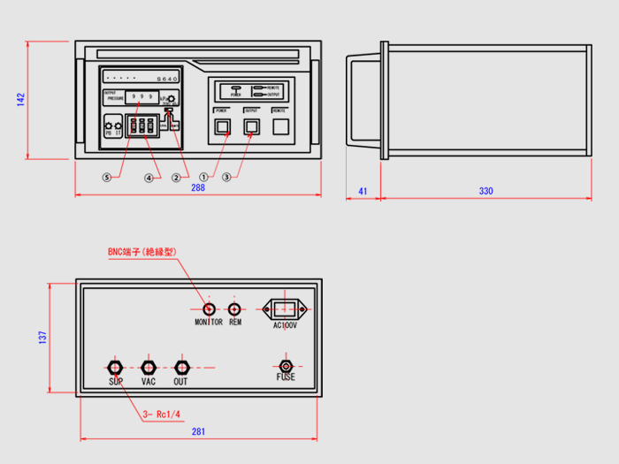 基準圧力発生器:S630シリーズ